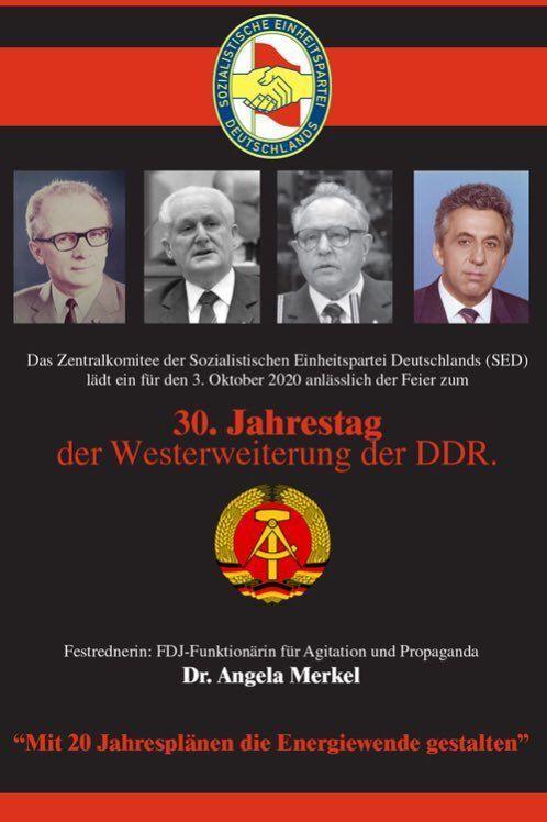 70. Jahrestag der DDR