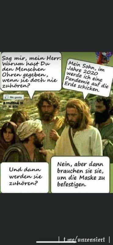 Jesus und Ohren