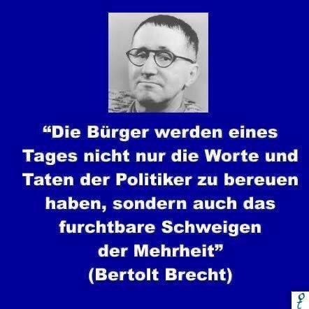 Zitat Bertolt Brecht