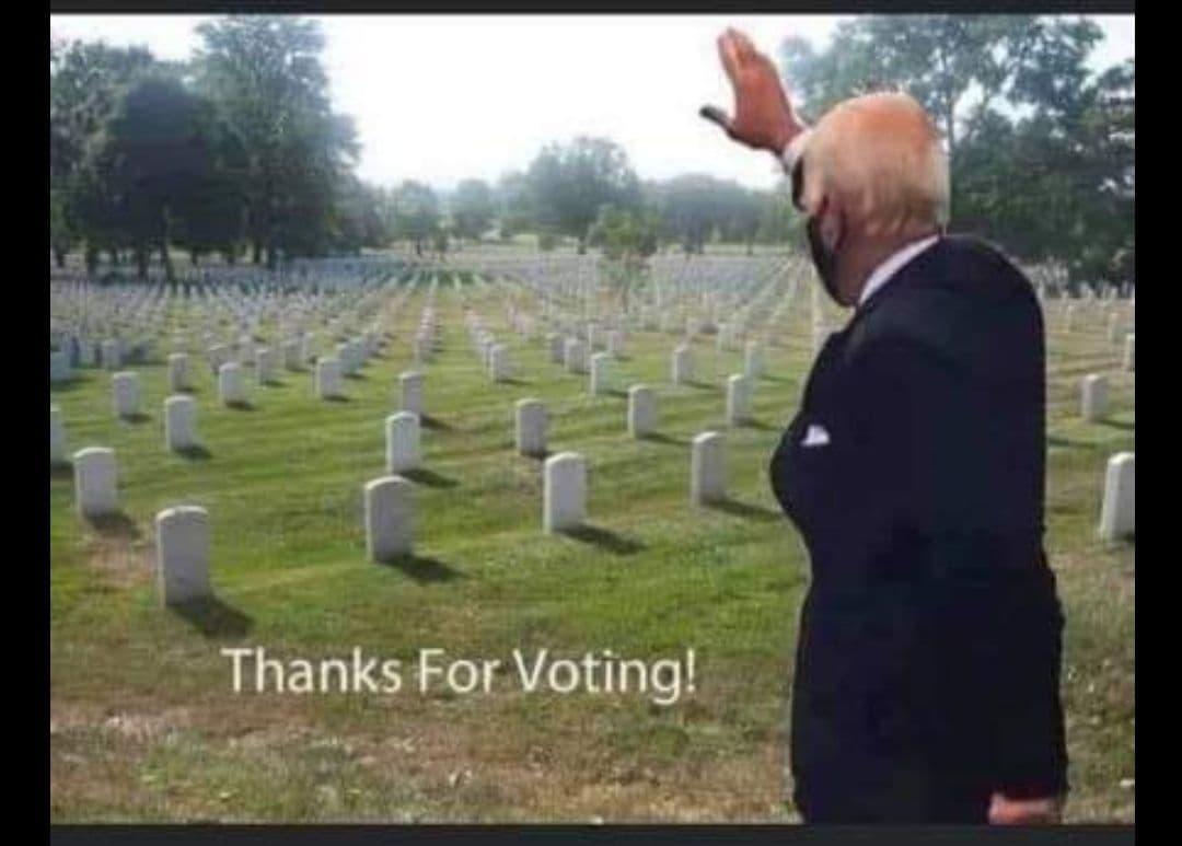 Danke für die Wahl