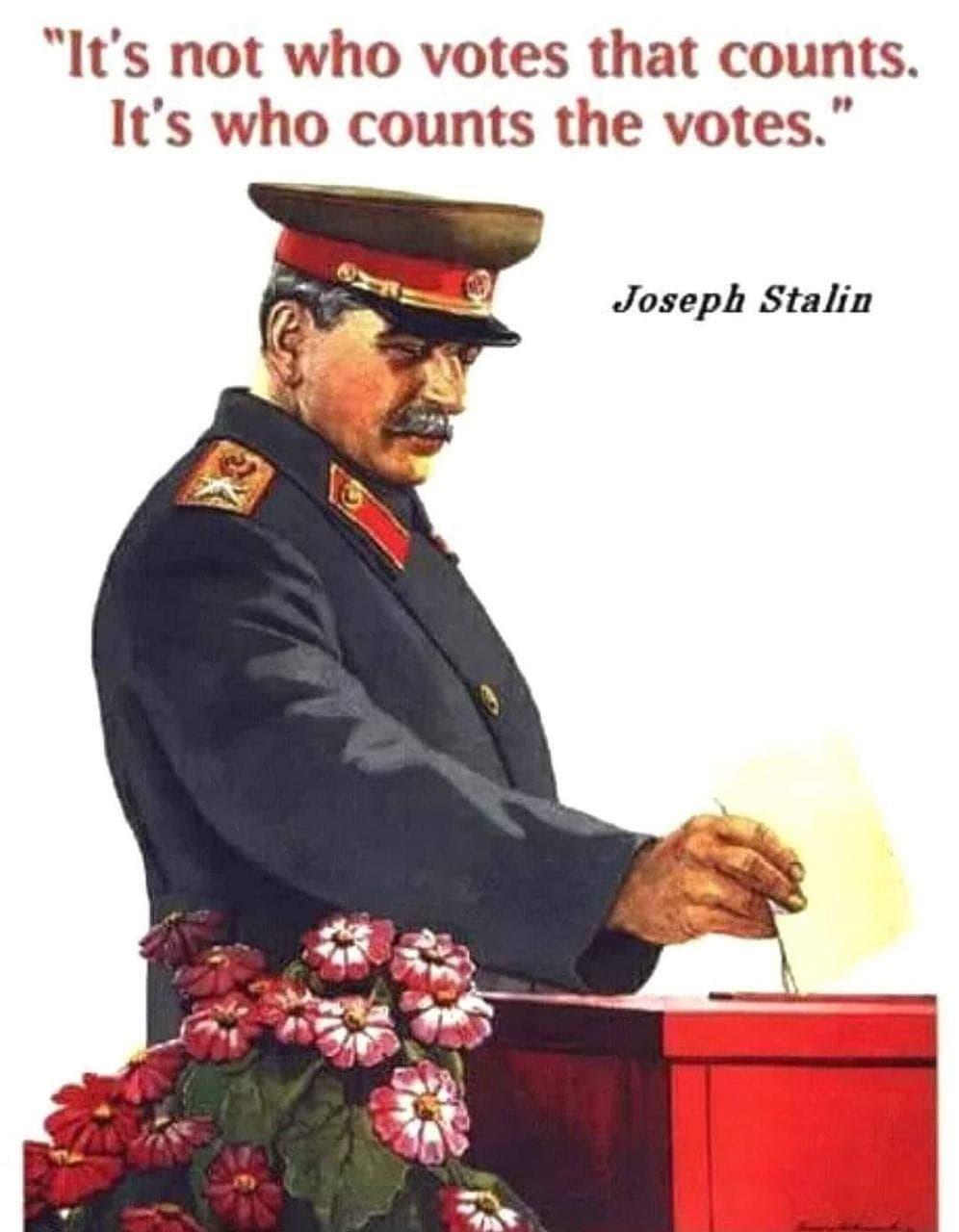 Stalin zu Wahlen