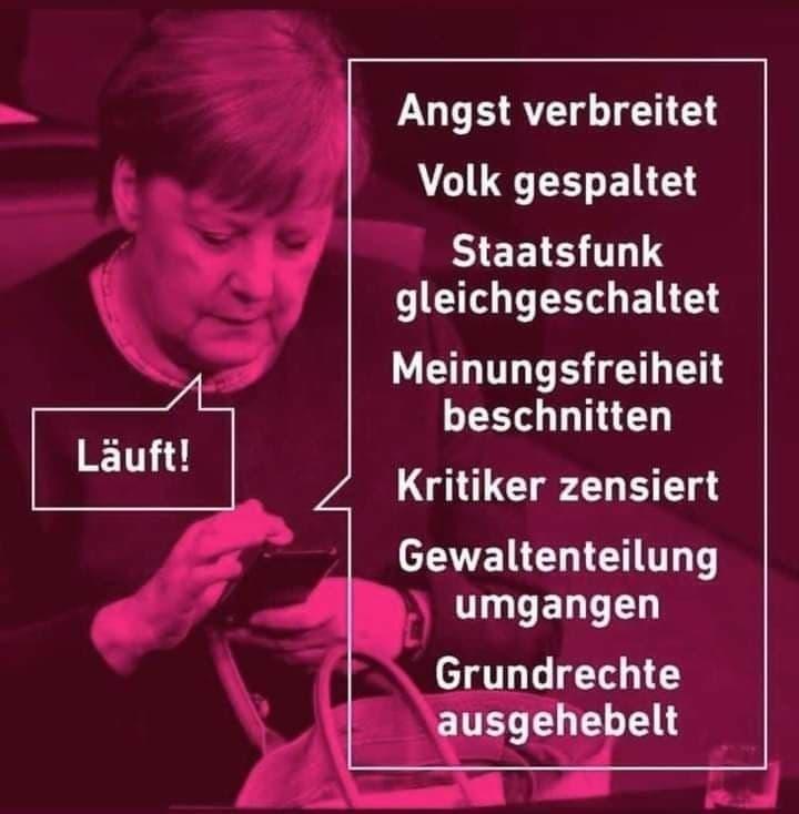 Angela Merkels Resultate