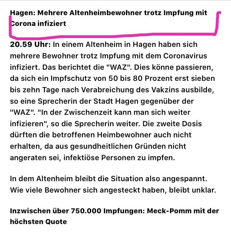Altenheim in Hagen
