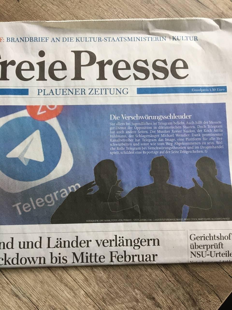 Freie Presse_2021-01-20