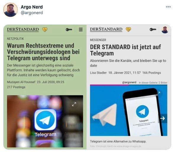 Standard Telegram