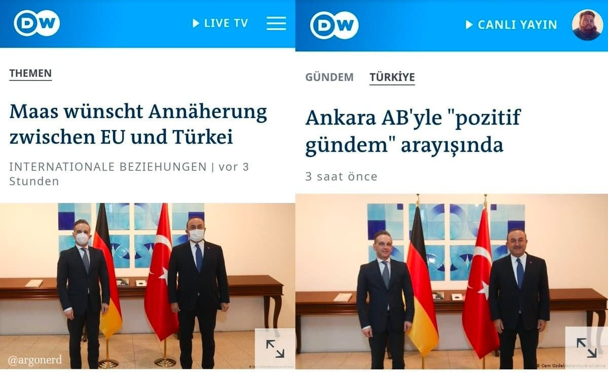 Türkei Verarsche