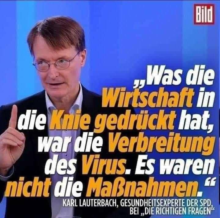 Karl Lauterbach Maßnahmen