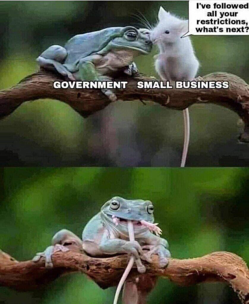 Regierung und Gewerbe
