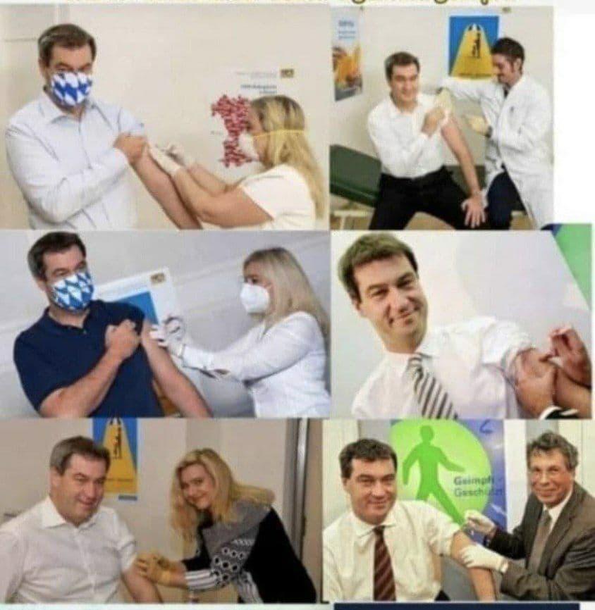 Söder Impfverarsche