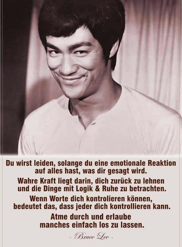 Zitat Bruce Lee