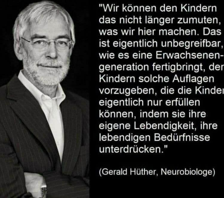 Zitat Gerald Hüther