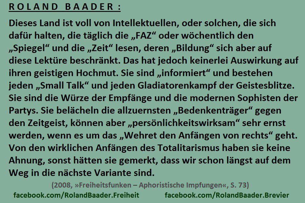 Zitat Roland Baader