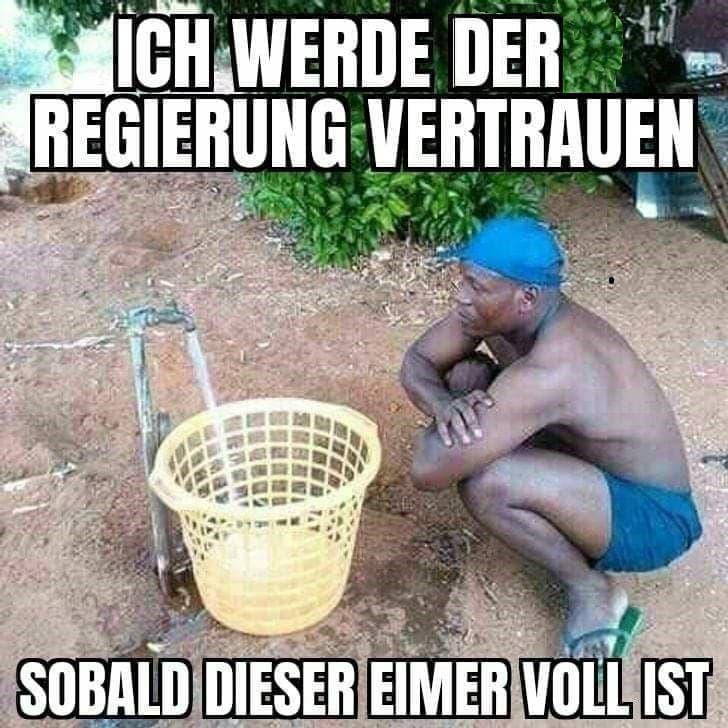 Voller Eimer