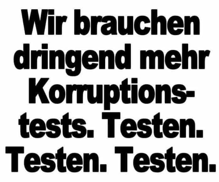 Korruptionstests