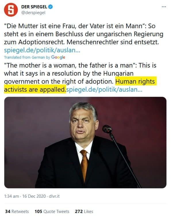 Spiegel zu Orban