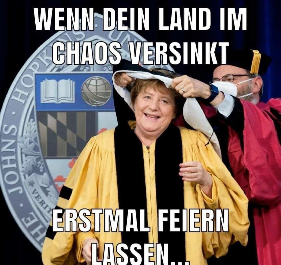 Merkel bei Hopkins