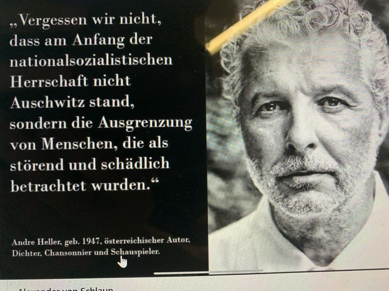 Zitat André Heller