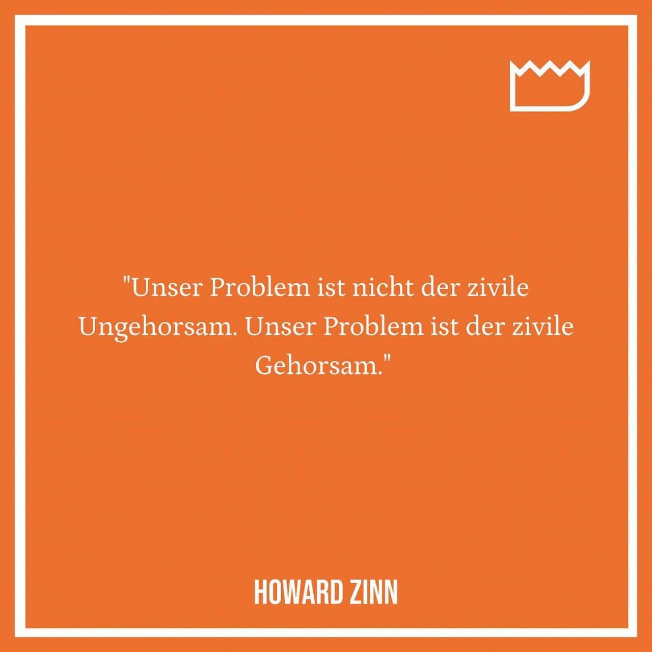 Zitat Howard Zinn