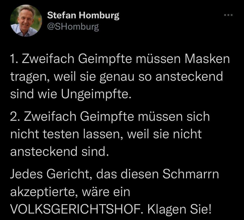 Zitat Stefan Homburg