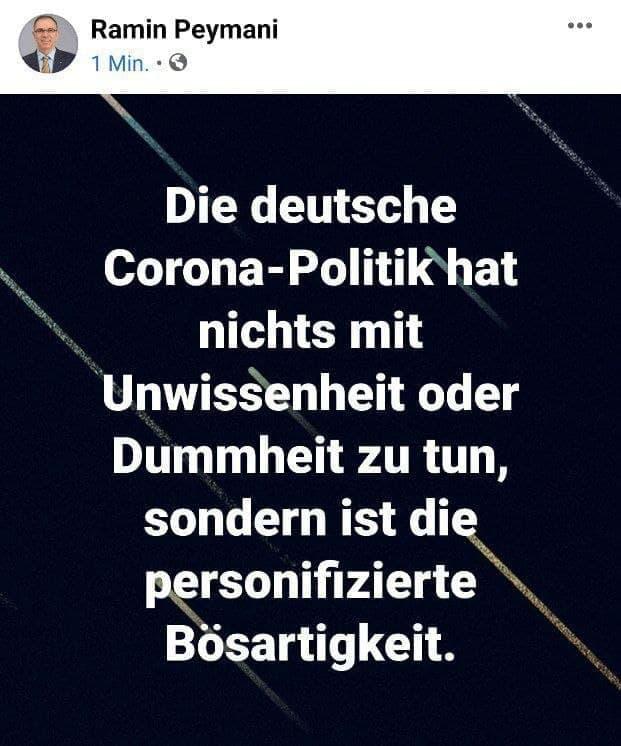 Corona-Politik ist bösartig