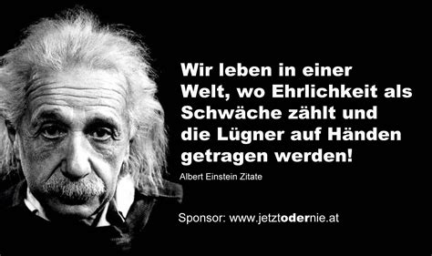 Zitat Albert Einstein Ehrlichkeit