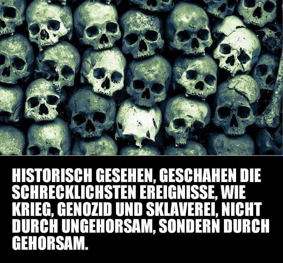 Gehorsam und Genozid