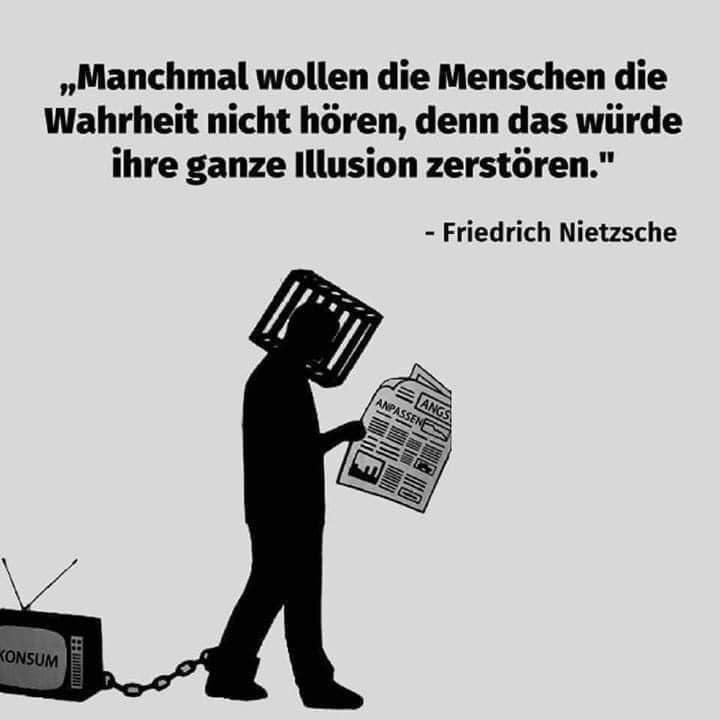 Zitat Nietzsche Medienillusion